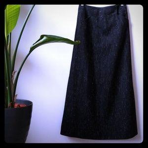 J. Crew Long Winter Tweed Skirt